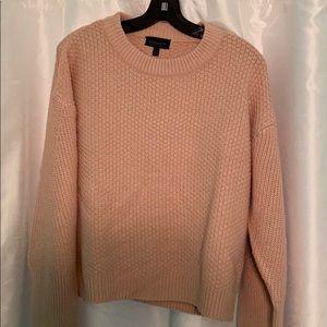 Topshop Light Pink Sweater